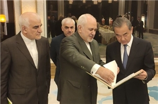 Iranian, Chinese FMs Confer on N. Deal
