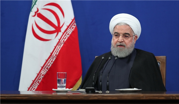 President Warns of US Plots against Iranian Nation