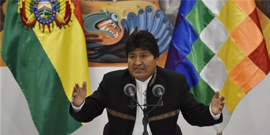 Who Is Behind Morales' Resignation?
