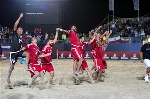 Iran Beats Russia at 2019 Intercontinental Beach Soccer Cup