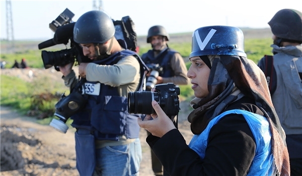 600 Israeli Violations Against Palestinian Journalists Recorded in 2019