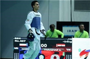 Iranian Taekwondo Fighter Picked as Best at 4th FISU Gala in Italy