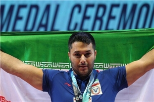 Iran Weightlifter Bags Bronze Medal in Olympics Qualifying Games