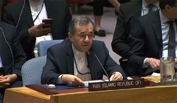 Envoy: All World States Want US to Lift Anti-Iran Sanctions amid Coronavirus Pandemic