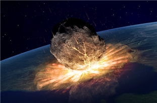 Earth's Oldest Asteroid Strike and 'Big Thaw'