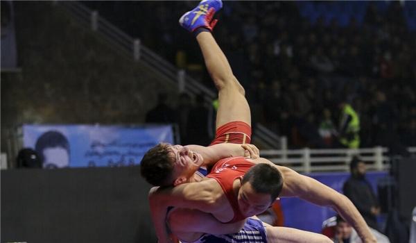 Iran Crowned Champion at Int'l Takhti Wrestling Cup