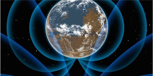 Strong Early Magnetic Field Around Earth
