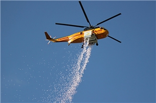 High-Altitude Drop System Allows Night Aerial Firefighting