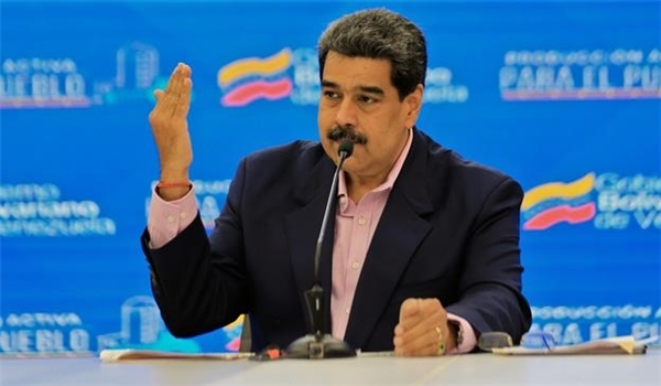 Maduro Slams Trump for Meeting with Venezuela's Opposition Figure