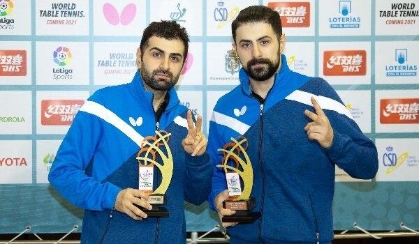 Iranian Athletes Claim Title of 2020 ITTF Challenge Spanish Open