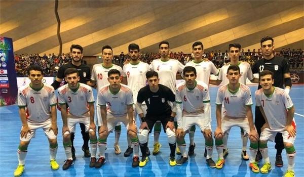 Iran U20 Finish 3rd at Futsal Tournament in Thailand