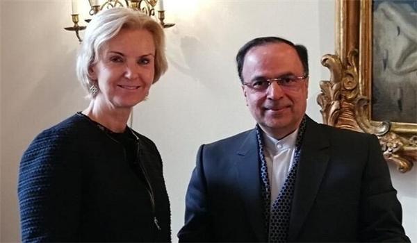 Iran, Sweden Discuss Bilateral Ties