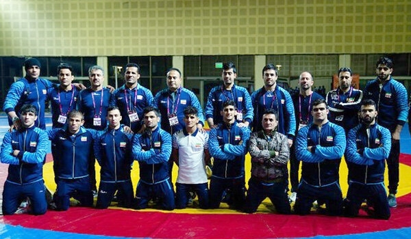 Iran's Greco-Roman Wrestling Team Crowned as Asian Championship