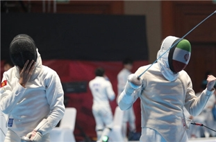 Iran's Sabre Fencers Improve World Ranking
