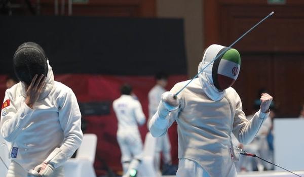 Iran's Sabre Fencers Improve World Ranking