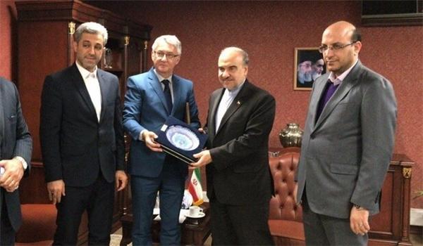 Tehran, Belgrade Resolute to Bolster Sports Cooperation