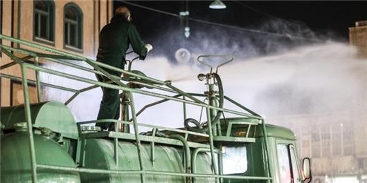IRGC Ground Force Starts Biodefense Exercises across Iran