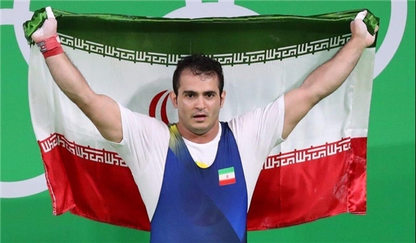 Iranian Lifter Snatches 3 Gold Medals at West Asian Championships