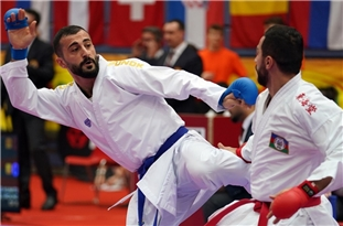 Iranian Karatekas Bring Home Two Golds from World Premier League in Austria