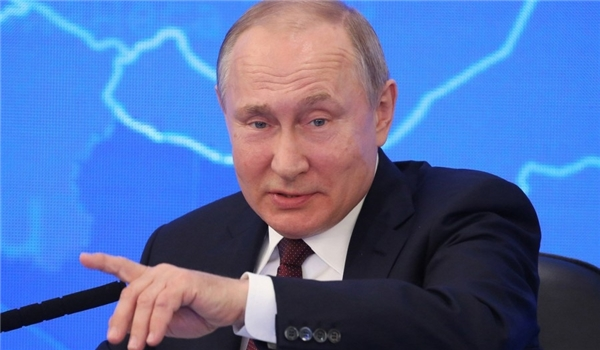Putin: Russia Seeks to 'Create Conditions Co NOBODY Wants to Fight Us'
