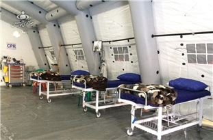 Iranian Army Inaugurates 2,000-Bed Medical Center for Coronavirus Patients