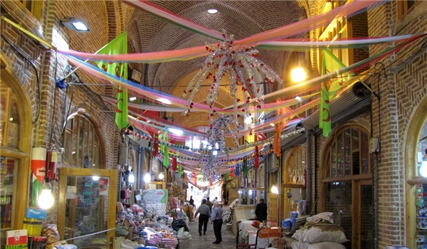 World's Largest Roofed Bazaar in Iran Closed for 3 Days, Anti-Coronavirus Efforts Continue