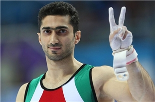 Iranian Athlete Advances to Gymnastics World Cup in Azerbaijan