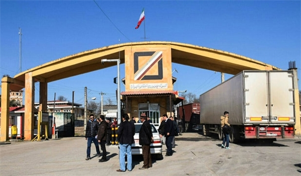 Transit of Goods from Astara Land Border Up by over 22 Percent