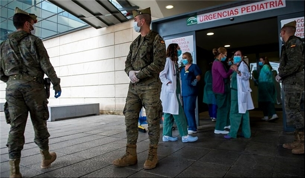 Spanish Medics Demand Protection as Death Toll Overtakes China's