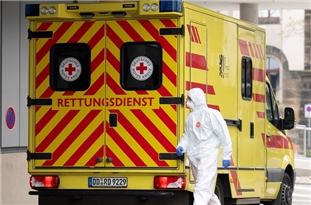 COVID-19 Death Toll in Germany Tops 8,400