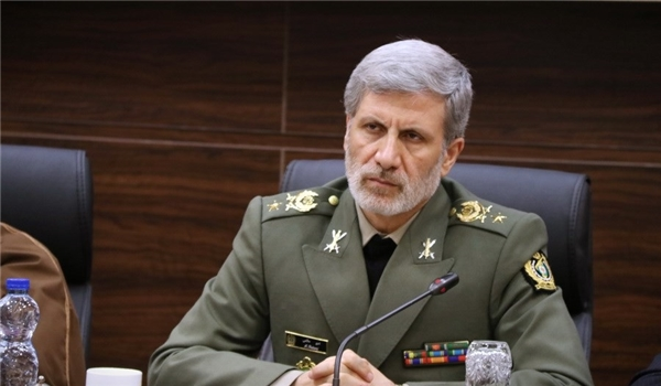 DM: Iran's Armed Forces Ready to Give Rigid Response to Any US Possible Aggression
