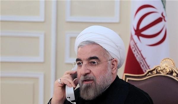 Iranian President Underlines Sharing Anti-Coronavirus Experiences with Kazakhstan