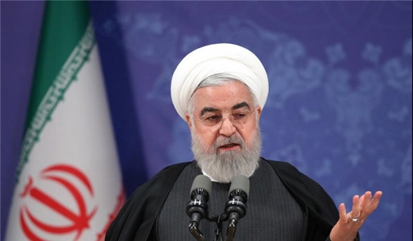 President Rouhani: No Way but Production to Confront Sanctions