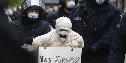 اعتراضات برلین