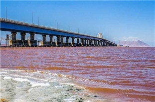 Lake Urmia Water Level Reaches 5bln Cubic Meters
