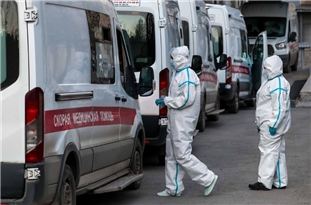Russia's Daily Coronavirus Recoveries Exceed New Cases
