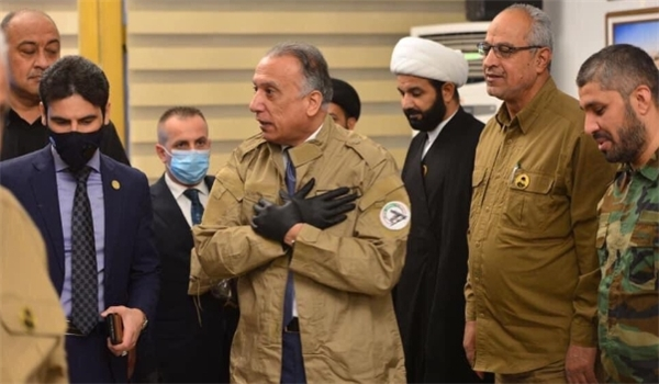New Iraqi PM Tours Anti-US Popular Forces' Headquarters, Wears Hashd Uniform in Show of Affinity