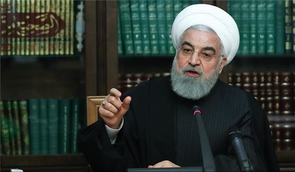 Rouhani Vows to Counter US Hostile Act against Iran's Tankers