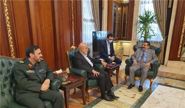 DM: Iraq Ready to Strengthen Cooperation with Iran