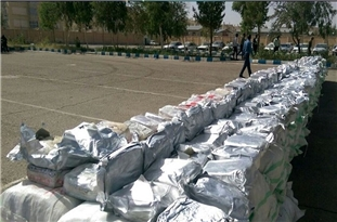 Over One Ton of Narcotics Seized in Southeast Iran