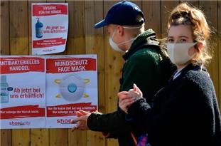 Germany's Coronavirus Death Toll Tops 8,300