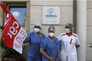 France: Health Care Workers Rally Near Health Ministry in Paris