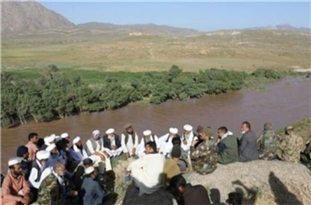 Iranian Delegation Discusses Border Incident with Afghan Officials