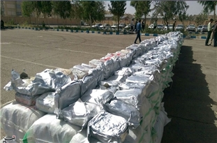 Police Seizes over 1-Ton of Narcotics in Southeastern Iran