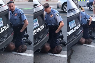 Minneapolis Cop Kneeled on Neck of Black Man Until He Dies