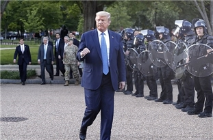 Trump Considered Using Military 'Tanks', Ordered Helicopters to Blast Protesters