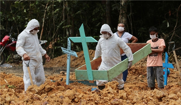 COVID-19 Deaths in Brazil Tops 97,000