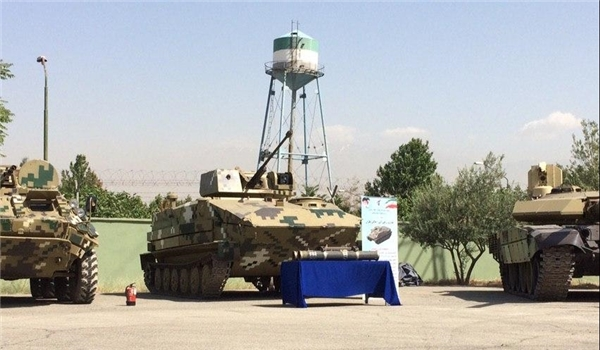 IRGC Ground Force Unveils Several Defensive Equipment