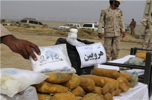 1.4 Tons of Narcotics, 3 Smugglers Captured in Southeast Iran