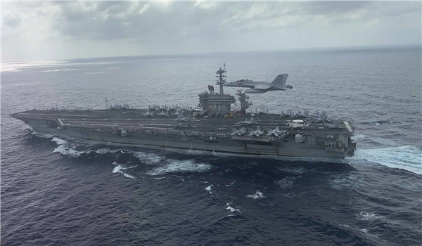 US Aircraft Carriers Hold Joint Drills After ASEAN Lambastes Beijing over South China Sea